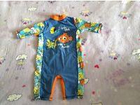 Boys swimsuit size 18-24 months Nemo design
