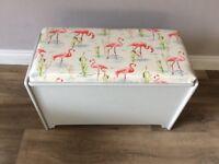 An IFCO ltd linen chest/ toy box