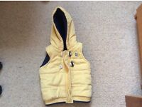 Boys body warmer/gilet 9-12 months excellent condition