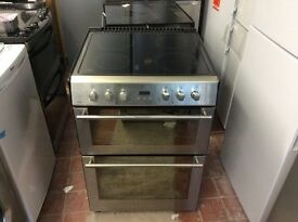 Stoves ceramic stainless steel cooker 3 months old 60 cm wide