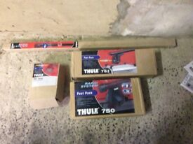 Thule car roof bars and fitting kits (2)
