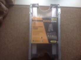 Work Zone Multi-Purpose Folding Ladder