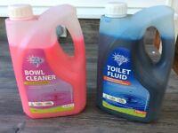 Blue Diamond toilet cleaner & fluid for caravans, motorhomes etc