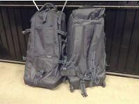 Backpack trolley bag x 2