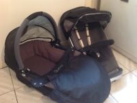 Quincy carrycot and pram seat