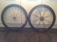 American Classic Carbon 40 clincher road wheelset