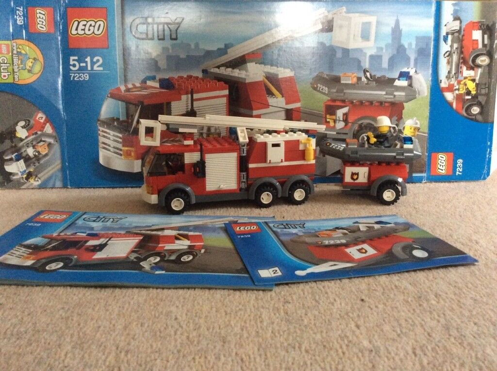 Lego City Fire Truck 7239 In Southampton Hampshire Gumtree