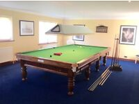Full Size Snooker Table with all the extras