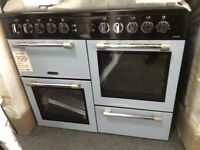 Leisure cookmaster 100cm range. Blue £750 RRP £1000 new/ graded 12 month Gtee