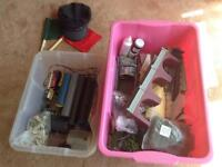 LG COLLECTION OF HORNBY MODEL RAILWAY ITEMS. TRAINS, TRACK, SCENERY, ELECTRONICS, DIECAST VEHICLES