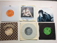 "6 x 7"" Vinyl Singles from the 1980's Great Condition. Part of a very large collection of singles"