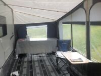 Full awning foreman Montana size 17. 1050-1075cm. No curtains