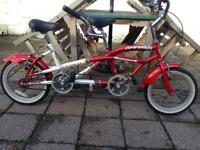 Childs tandem bike