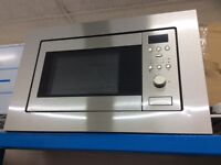 Stainless steel integrated microwave new graded 12 mth gtee
