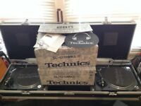 [SOLD]***A PAIR OF TECHNICS SL- 1210MK5 TURNTABLE
