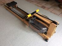 WaterRower rowing machine with S4 performance monitor. Hardly used. Very good condition.