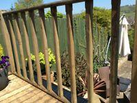 Decking balustrade spindles