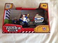 Tonka Town Police Motorcycle sealed in box