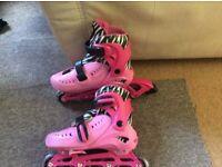Girls in-line skates size13-3