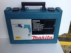MAKITA HP2070 Hammer Drill - 110 volt - 0.5 inch 2 speed
