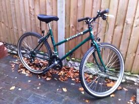 GREEN PHOENIX BICYCLE ( original SHIMANO breaks and gears)