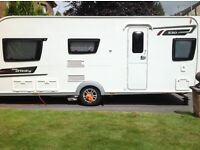 2014 Eldiss affinity 4 berth touring caravan FSH Evolution m mover porch awning + many extras