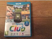 Wii U,Wii sports club game
