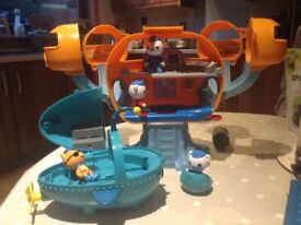 octonauts pod and submarine