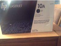 HP laserjet cartridges 10A black