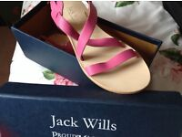 Sandals ladies size 7 jack wills