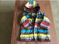 Tuc Tuc lined rain coat. Age 18mth