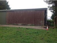 Agricultural heavy duty sliding Barn doors and tracks