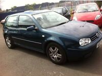 \\ RARE COLOUR // X VW GOLF 2.0 GTI, ONLY 79000 MILES, MOT MAY 2017, NO ADVISORIES.