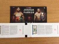FACE VALUE - Anthony Joshua vs Joseph Parker Tickets