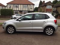 Voltswagon Polo 2011 Silver 1.2 60SE 5door/5speed manual. Very low mileage 25,063 miles