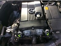 Mercedes c180 SE auto kompressor avantgarde Black, Mot Dec 7/17, 2 former keeper, 1st Reg 11/12/2005