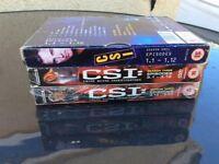 3 CSI DVD BOXSETS