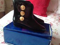 Vivienne Westwood Black Boots Size 5
