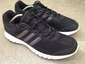 Men's black Adidas trainers size UK 12