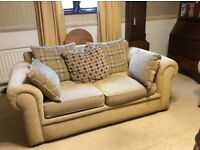 2 x 2 seater sofas, one is sofa bed.