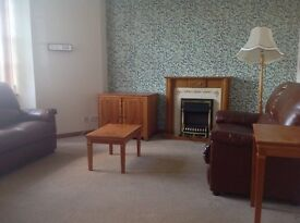 Attractive one bedroom, first floor flat for rent in Oban. Free parking.