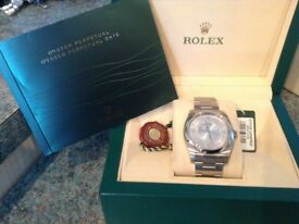 Rolex oyster perpetual 36 mm ( unisex ) stunning 2015