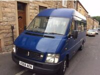 FOR SALE MY VW LT 35 16 SEATER MINIBUS DRIVES 50K MUST BE SEEN NEW VAN ARRIVING VERY RARE SALE !!!!