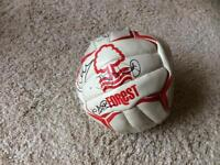Signed NFFC Football