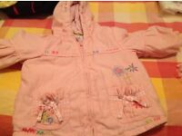 Baby girl jackets and snow suits,
