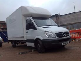 Mercedes-Benz box luton with tail lift