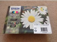 Epson ink 18 complete set (NEW and SEALED)