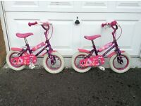 Fairy dust children's bikes * 2