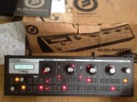 Moog Slim Phatty analogue synthesiser, boxed - excellent condition