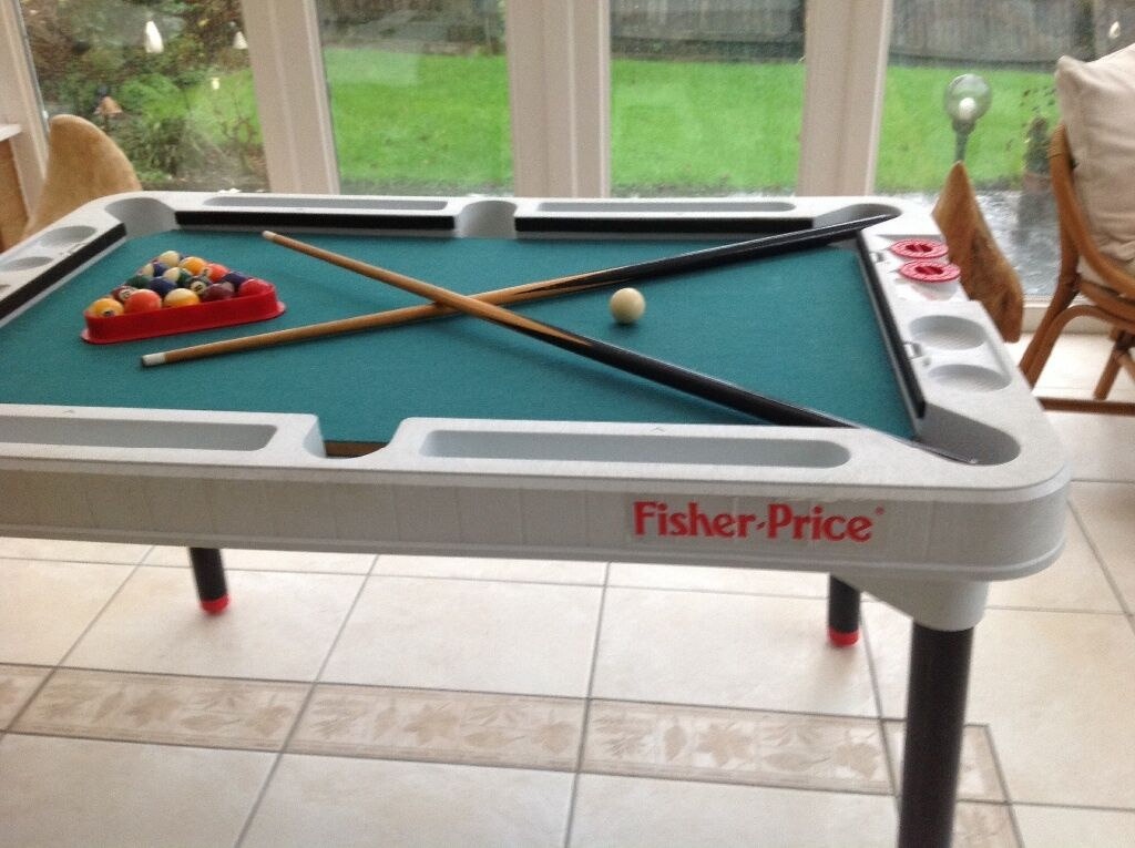 Fisher price 3 in 1 tournament table pool table tennis ping pong glide hockey in - Gumtree table tennis table ...